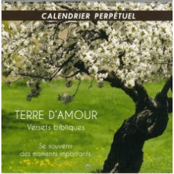 CALENDRIER PERPETUEL TERRE D'AMOUR