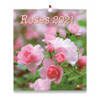 Roses, calendrier grand format